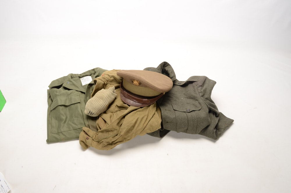 Group of WWII Era Uniform Pieces