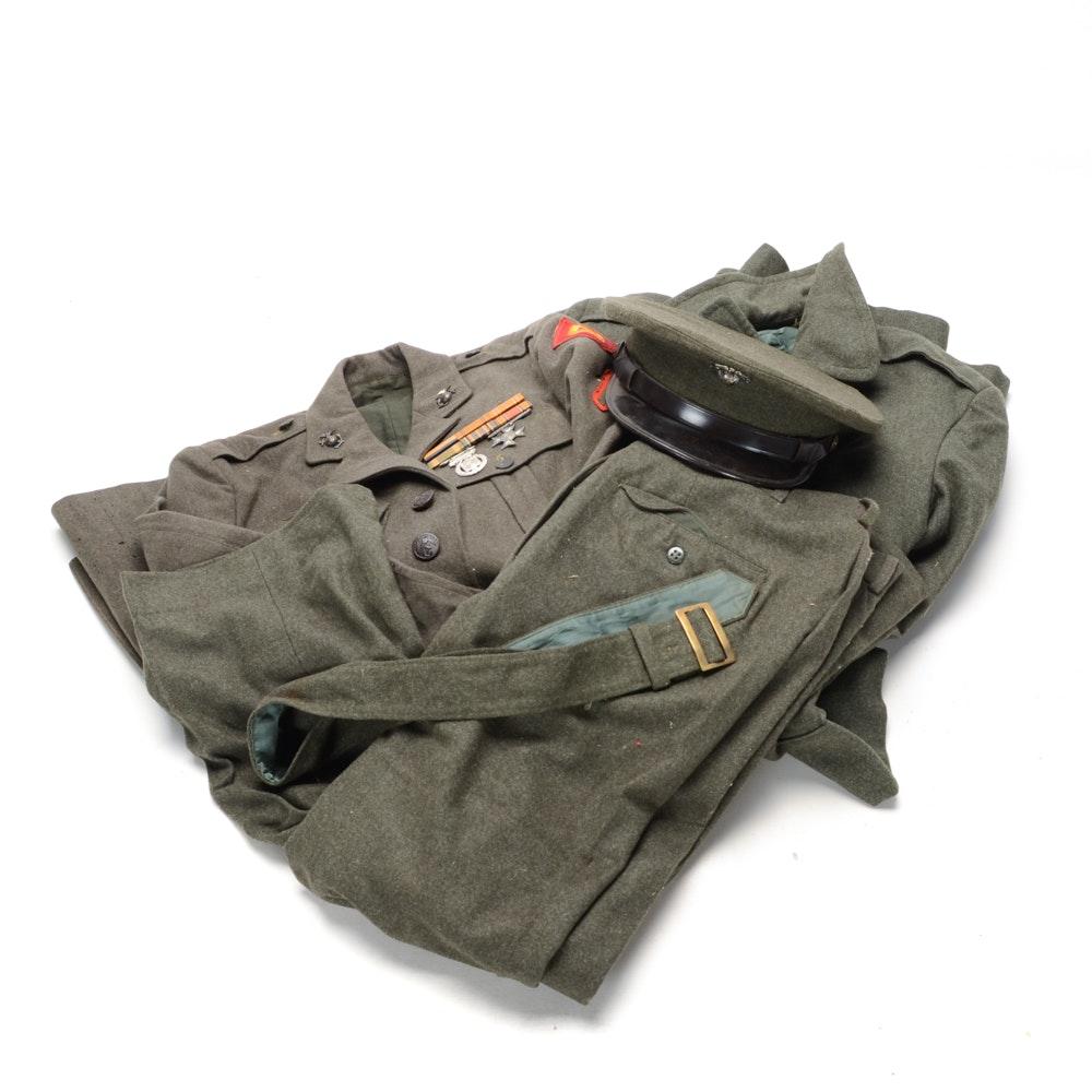 WWII US Marine's Uniform