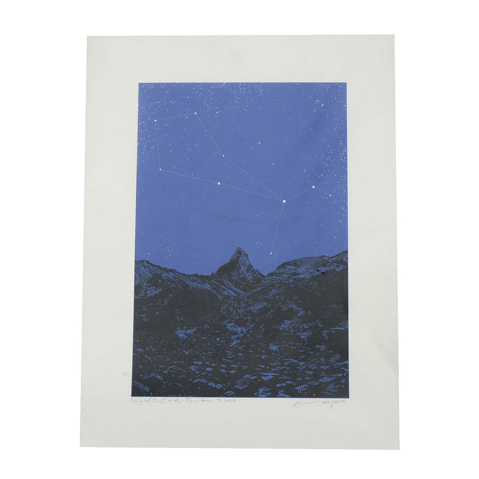 "Dan McCarthy Signed Limited Edition Glow-in-the-Dark Serigraph ""Boötes"""
