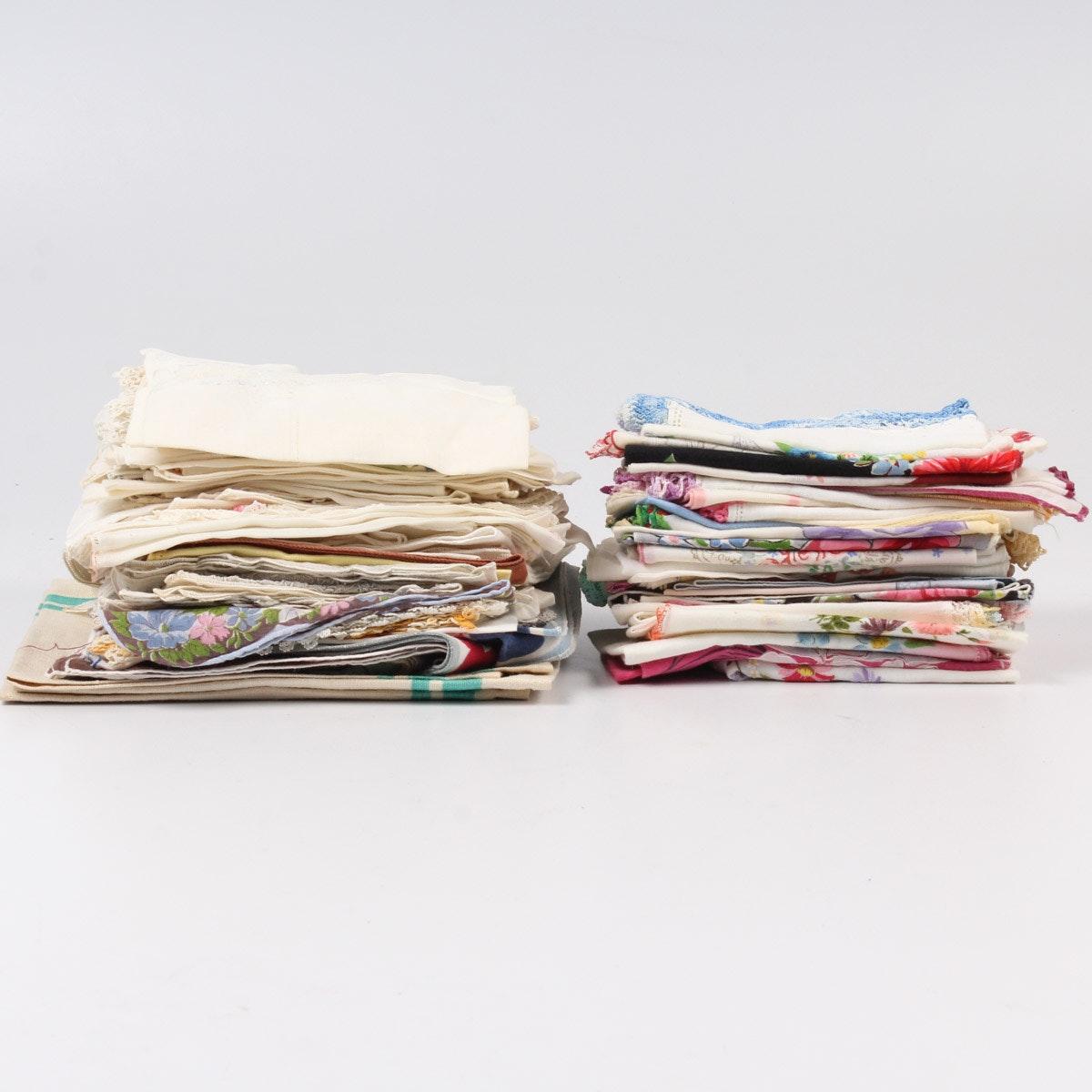 Vintage Handkerchief Assortment