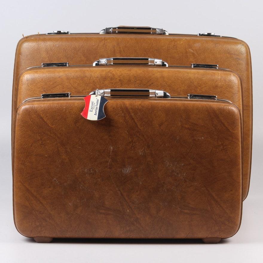 12c84ee6c Vintage American Tourister Luggage Set   EBTH