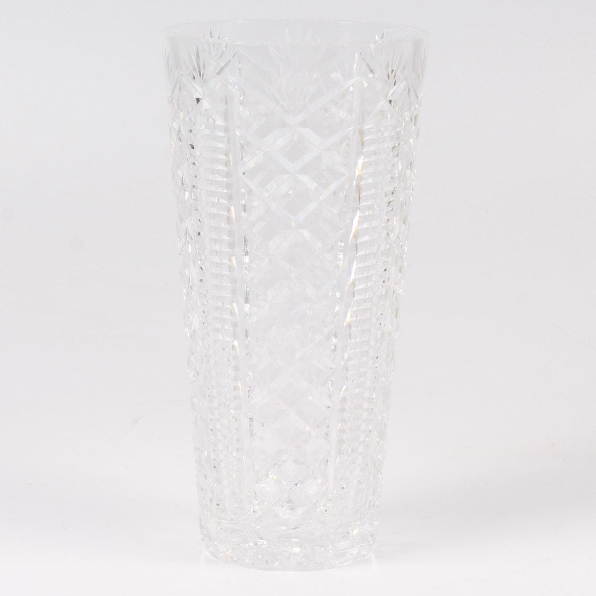 "Waterford Crystal ""Clare"" Vase"