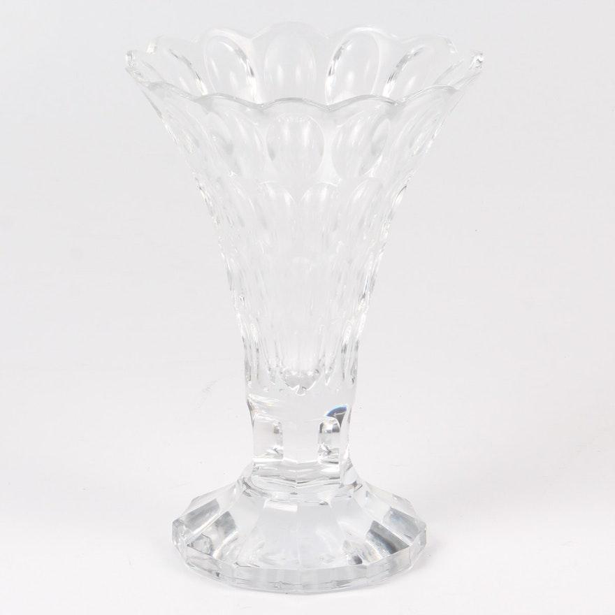 William Yeoward Crystal Vase Ebth