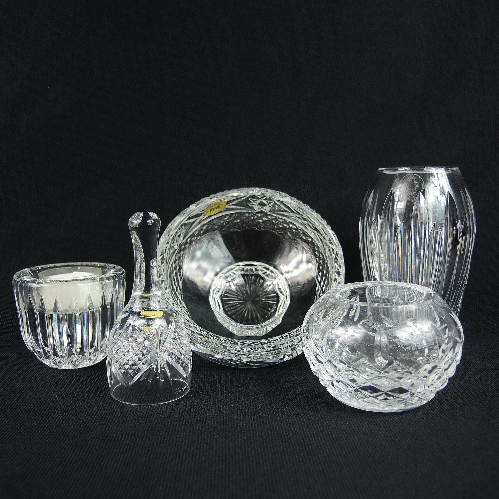 Waterford and Tyrone Cut Crystal Collection
