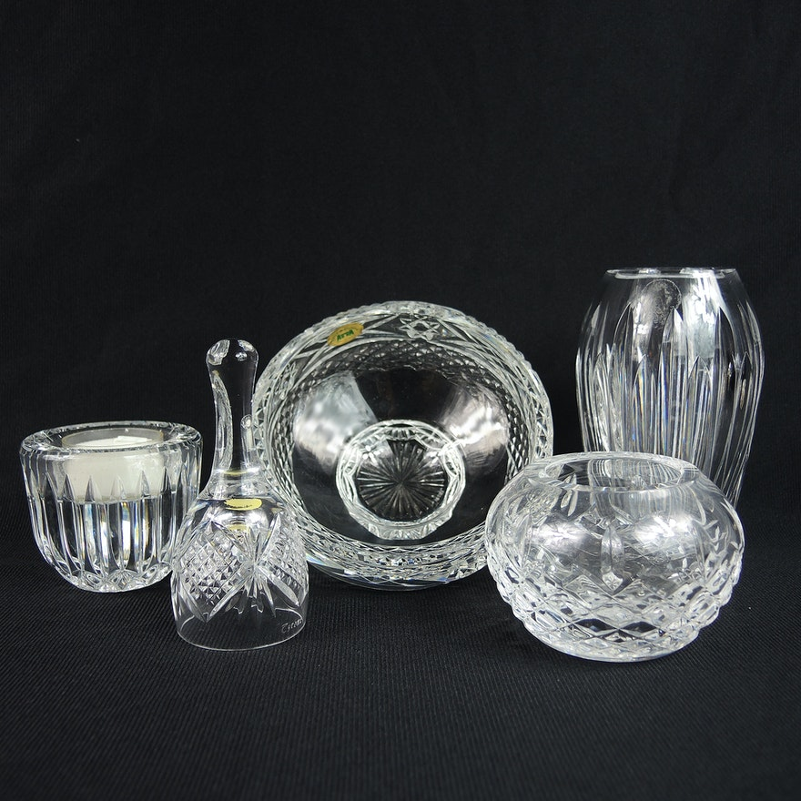 Waterford And Tyrone Cut Crystal Collection Ebth