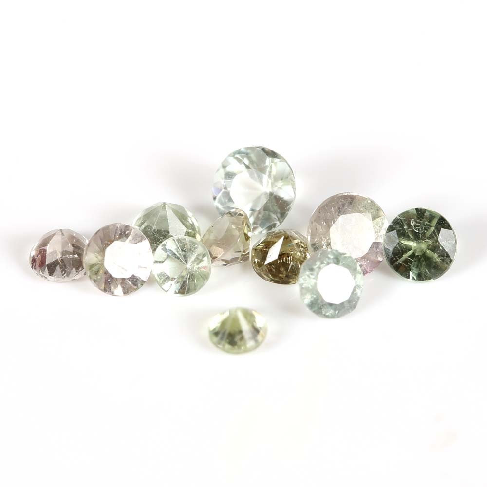 Loose Tourmaline Gemstones