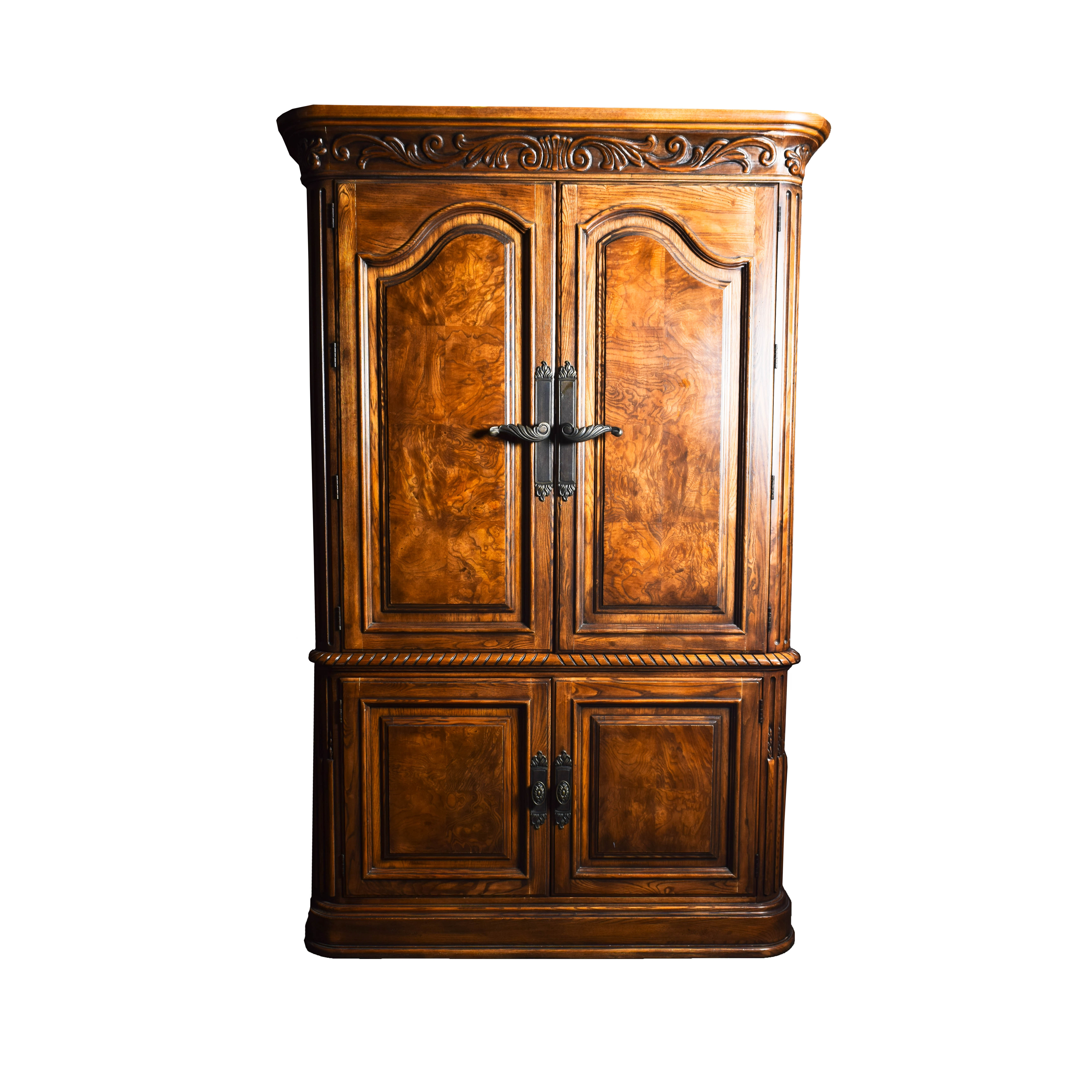 French Style Henredon Armoire ...