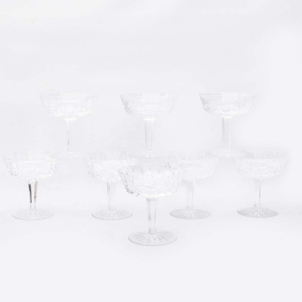 "Waterford Crystal ""Lismore"" Coupes"