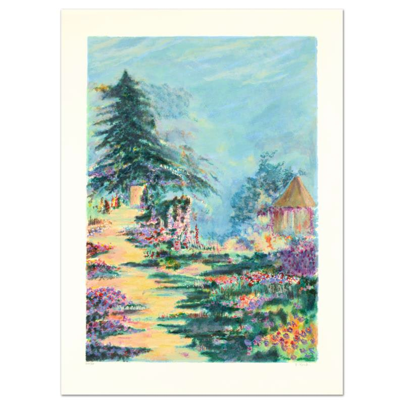 """Garden House"" Limited Edition Lithograph"