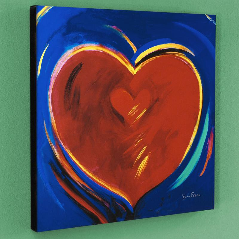 """""""To Hold You In My Heart"""" Limited Edition Giclee by Simon Bull"""