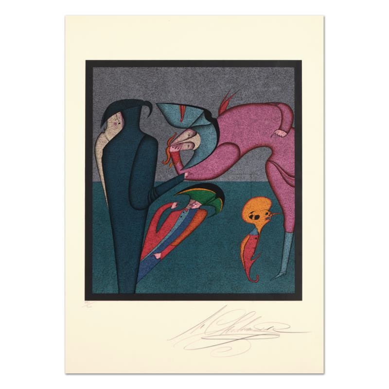 """Untitled 8"" Limited Edition Lithograph"