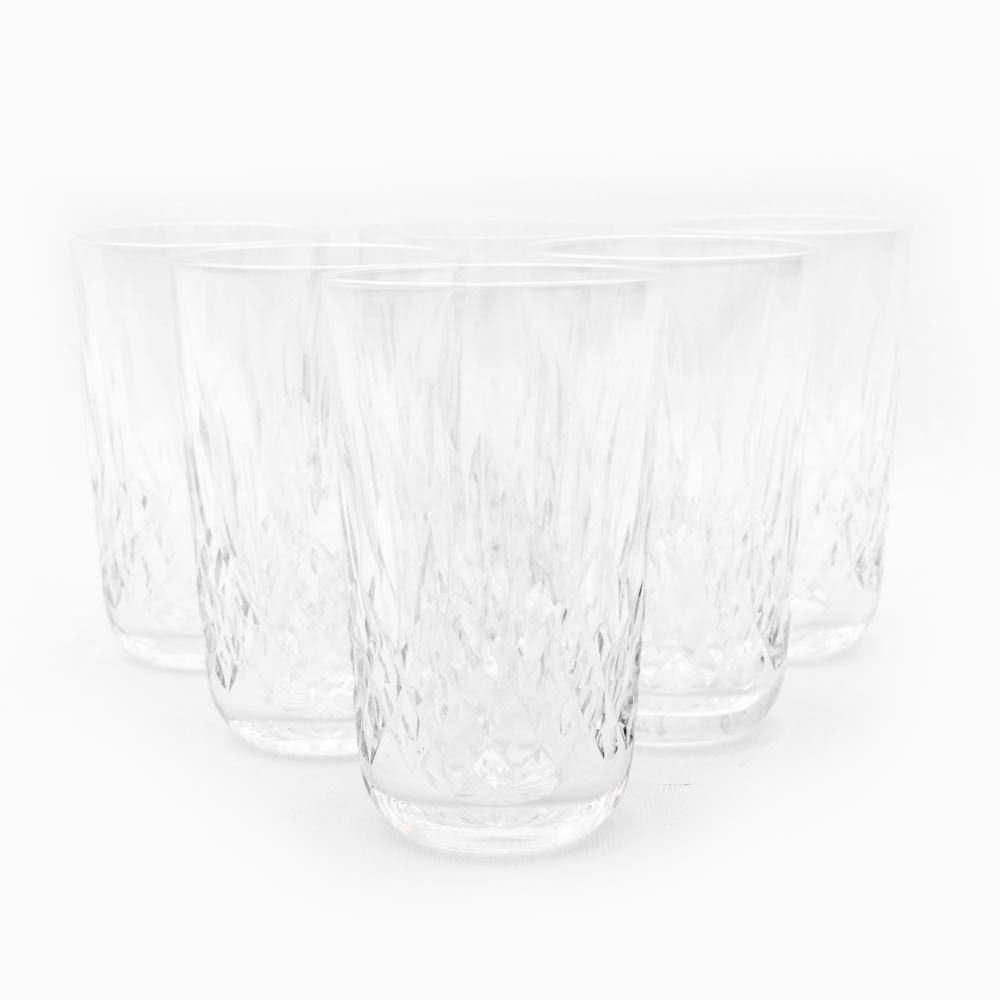 "Waterford Crystal ""Lismore"" Tumbler Glasses"
