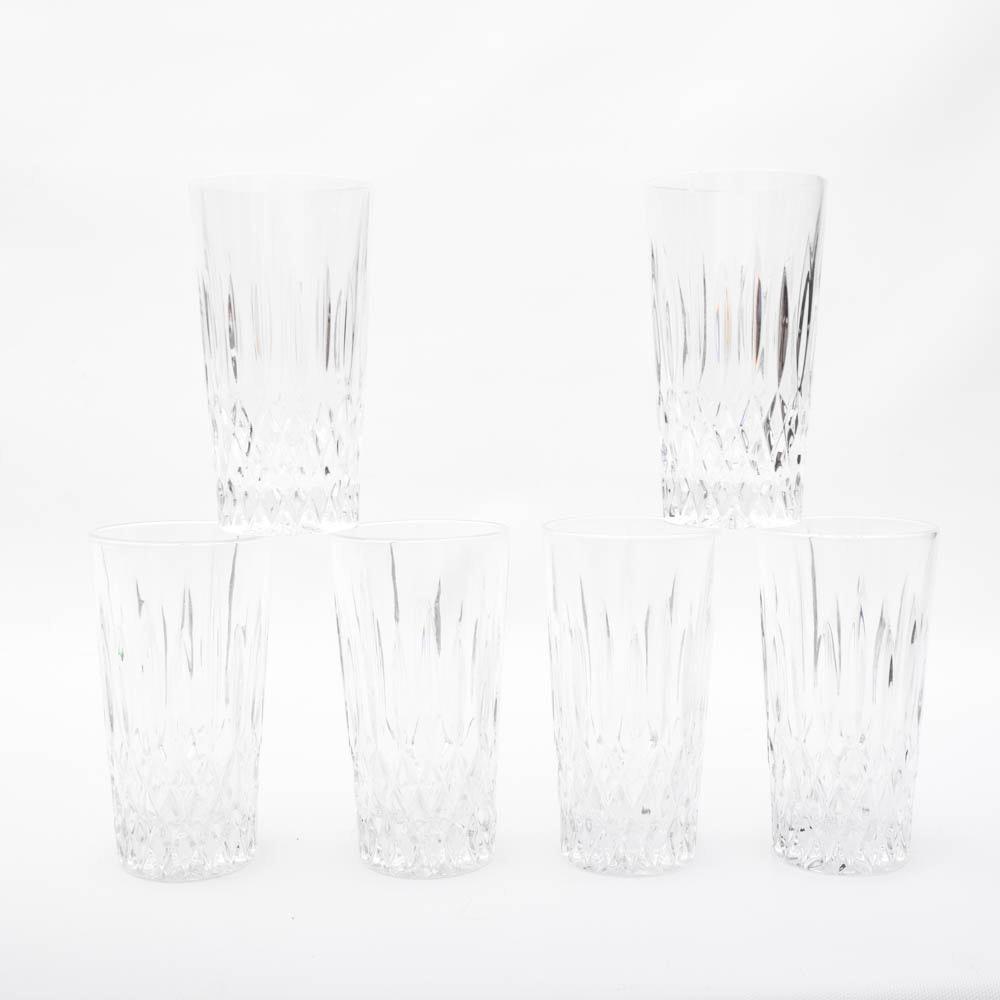 "Waterford Crystal ""Lismore"" Glasses"