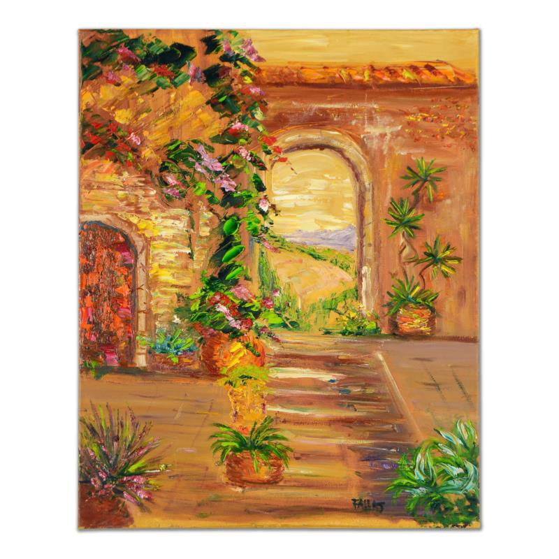 """Arch to the Beach"" Original Oil Painting"