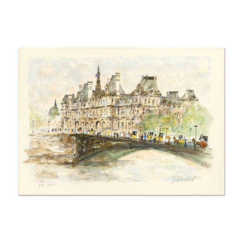 """""""Hotel De Ville"""" Limited Edition Lithograph"""