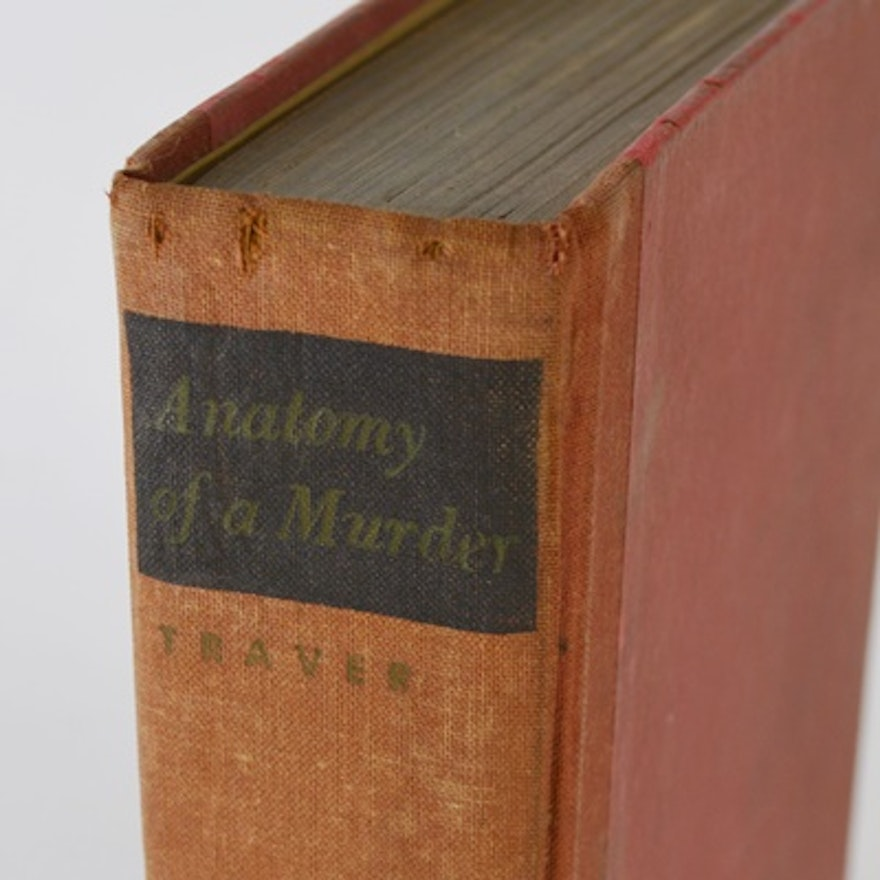 1958 Anatomy Of A Murder By Robert Traver Ebth