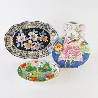Asian Ceramic Decor
