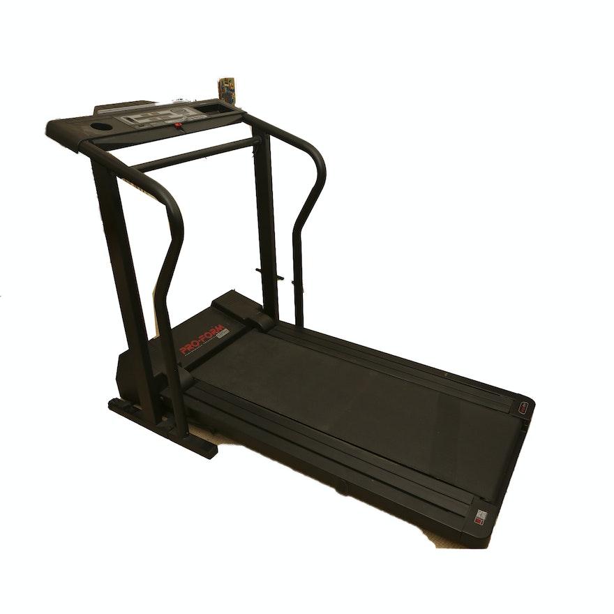 Worn Treadmill Deck