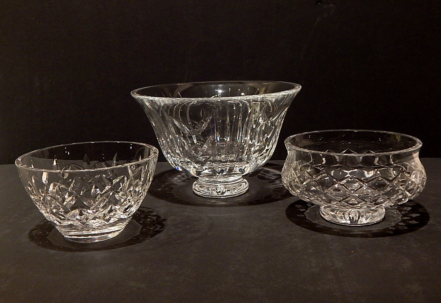 Group of Waterford Crystal Bowls