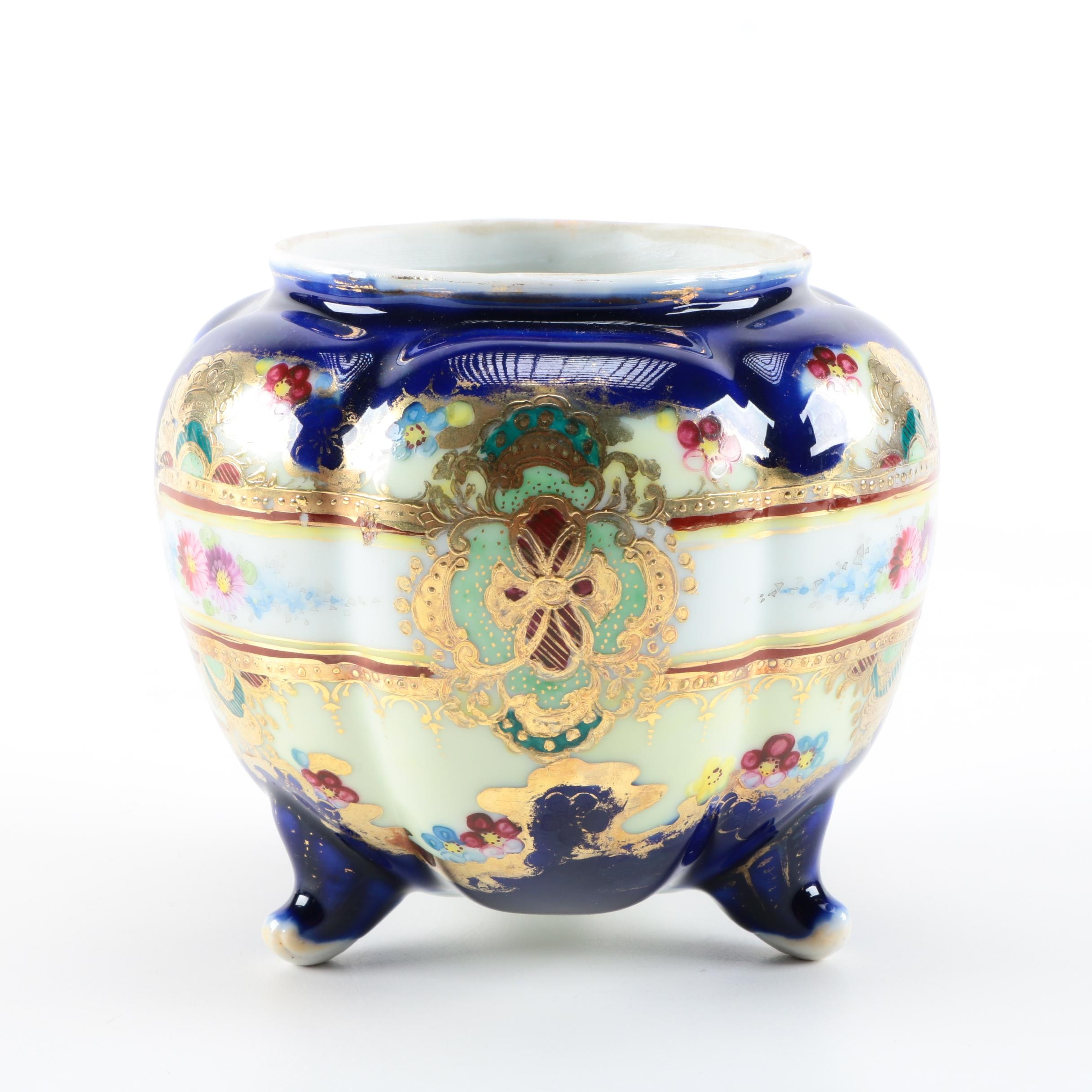 """Late 19th C. Nippon Porcelain Urn with """"NPSK"""" Mark"""