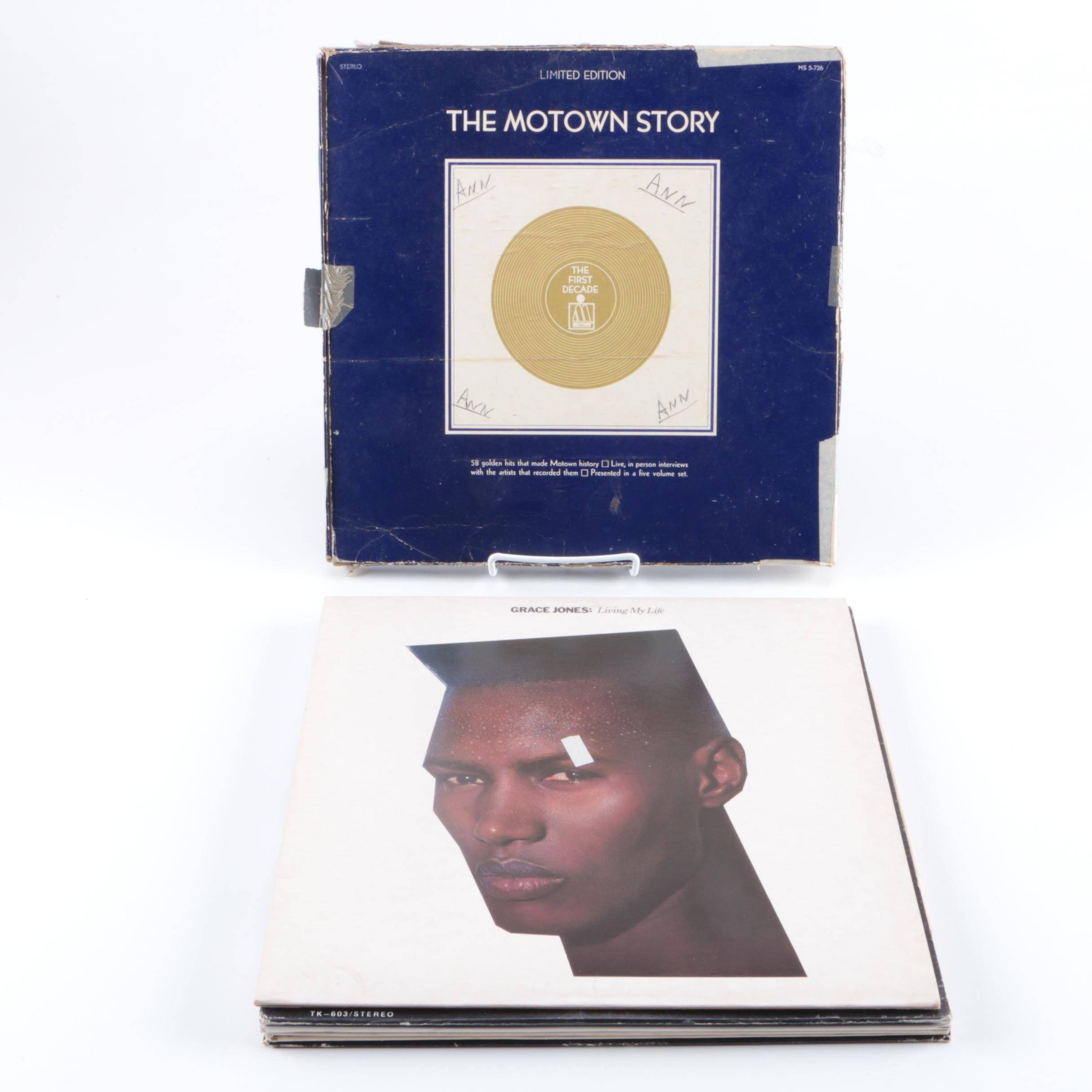 Motown, Grace Jones and Other R&B, Funk, Jazz LPs