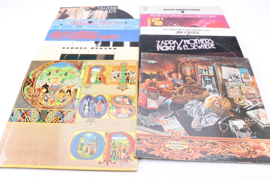 Zappa Byrds Talking Heads And Other Rock Pop Lps Ebth