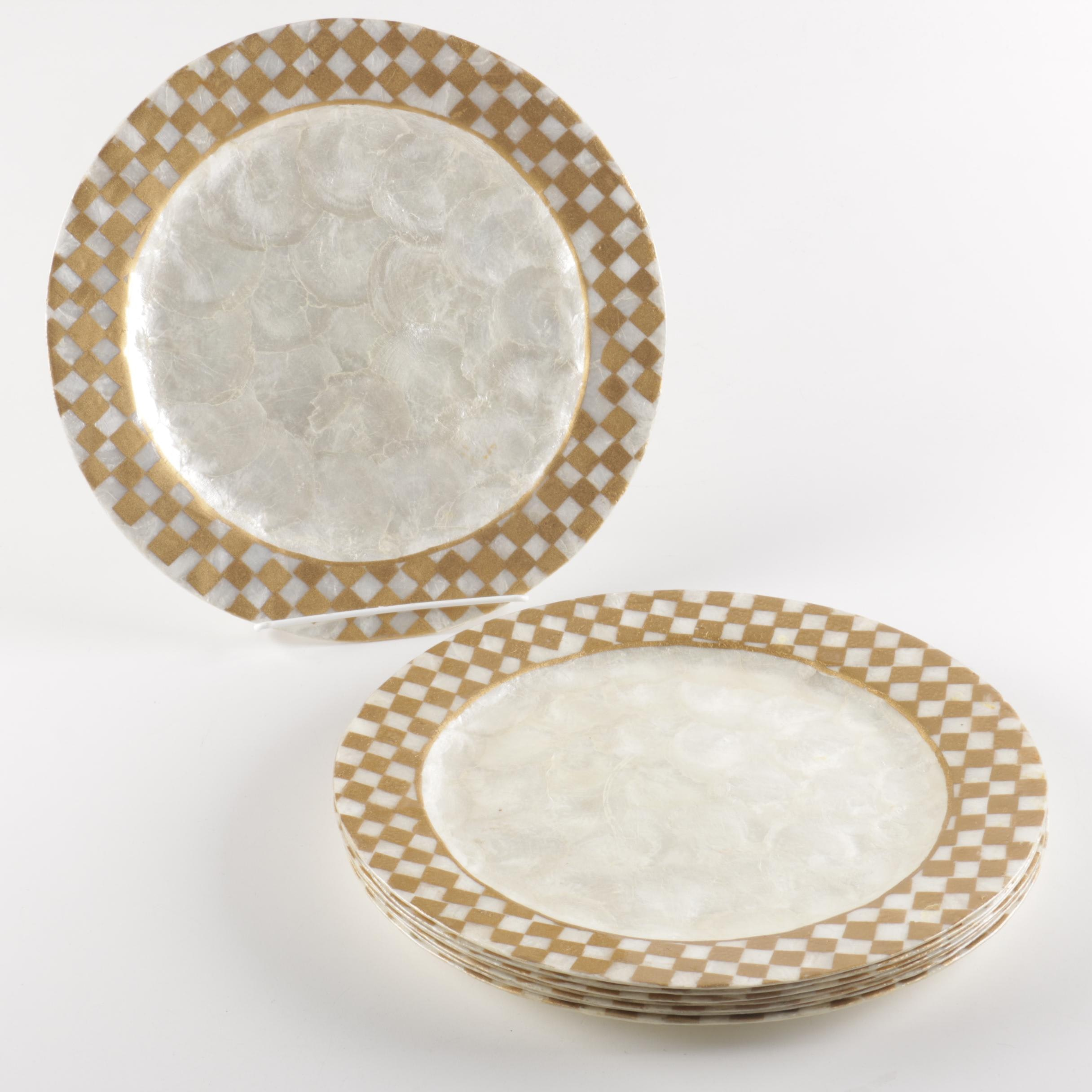 Capiz Shell Charger Plates