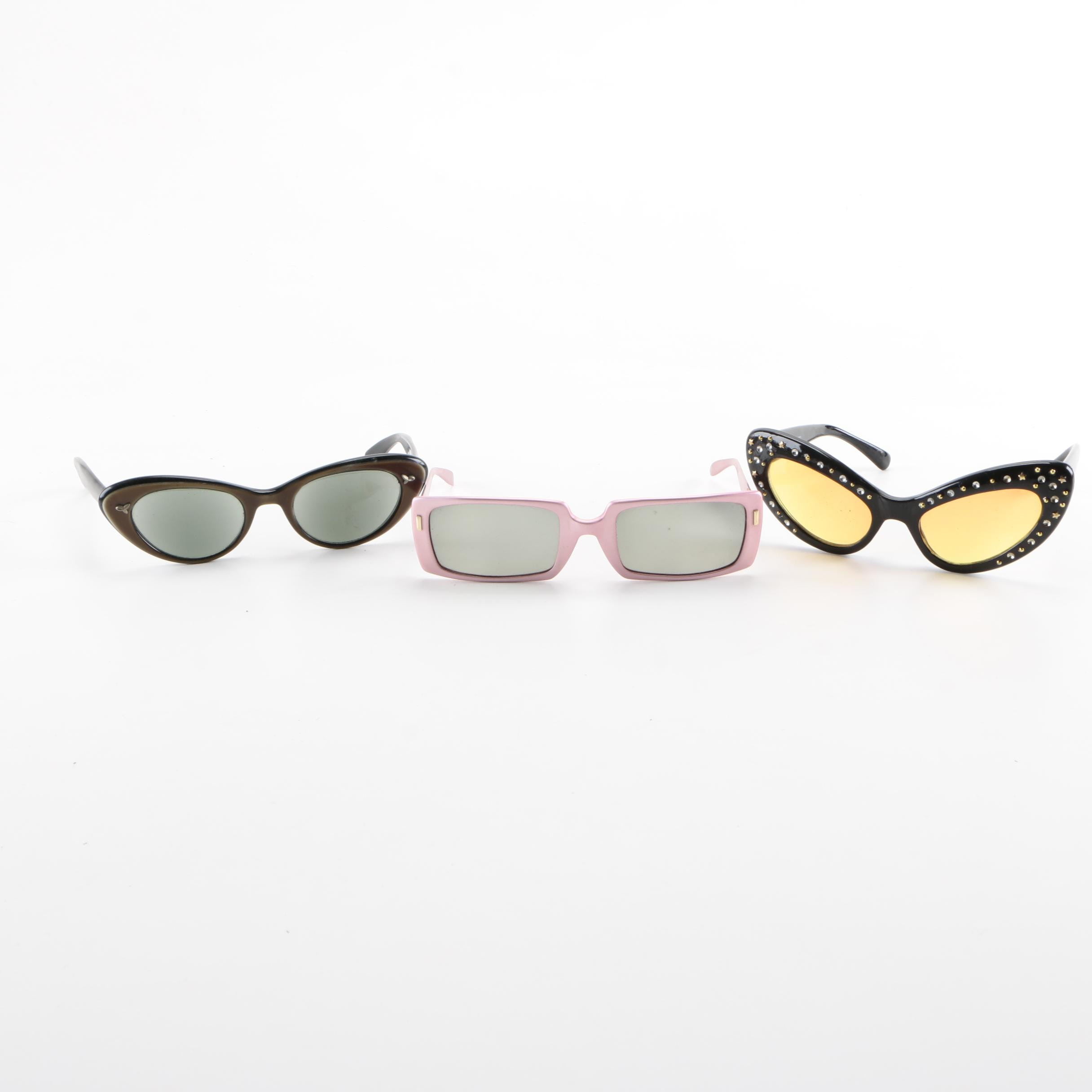 Vintage Sunglasses Including Dr. Peepers