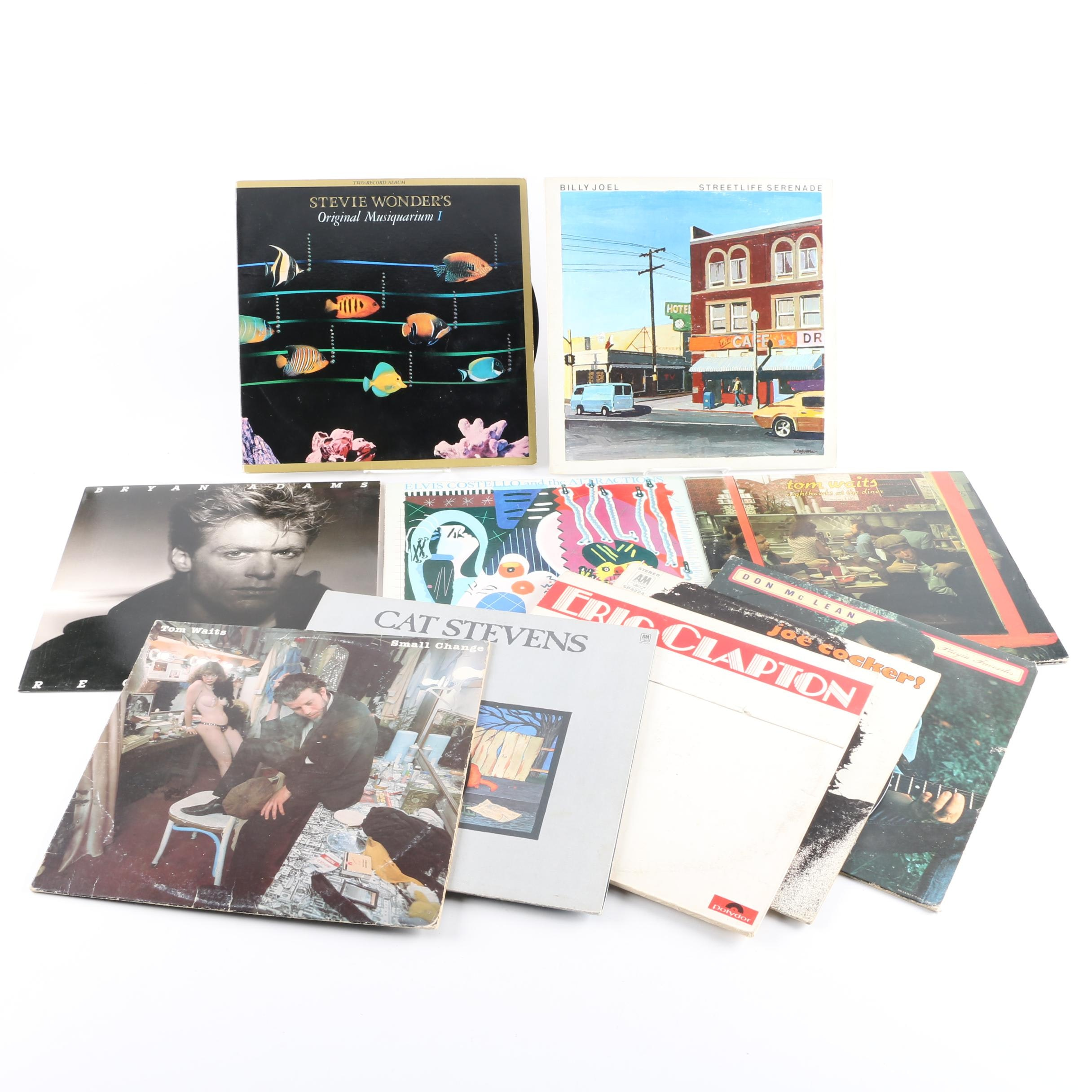 Eric Clapton, Tom Waits, Cat Stevens, Elvis Costello and Other LPs