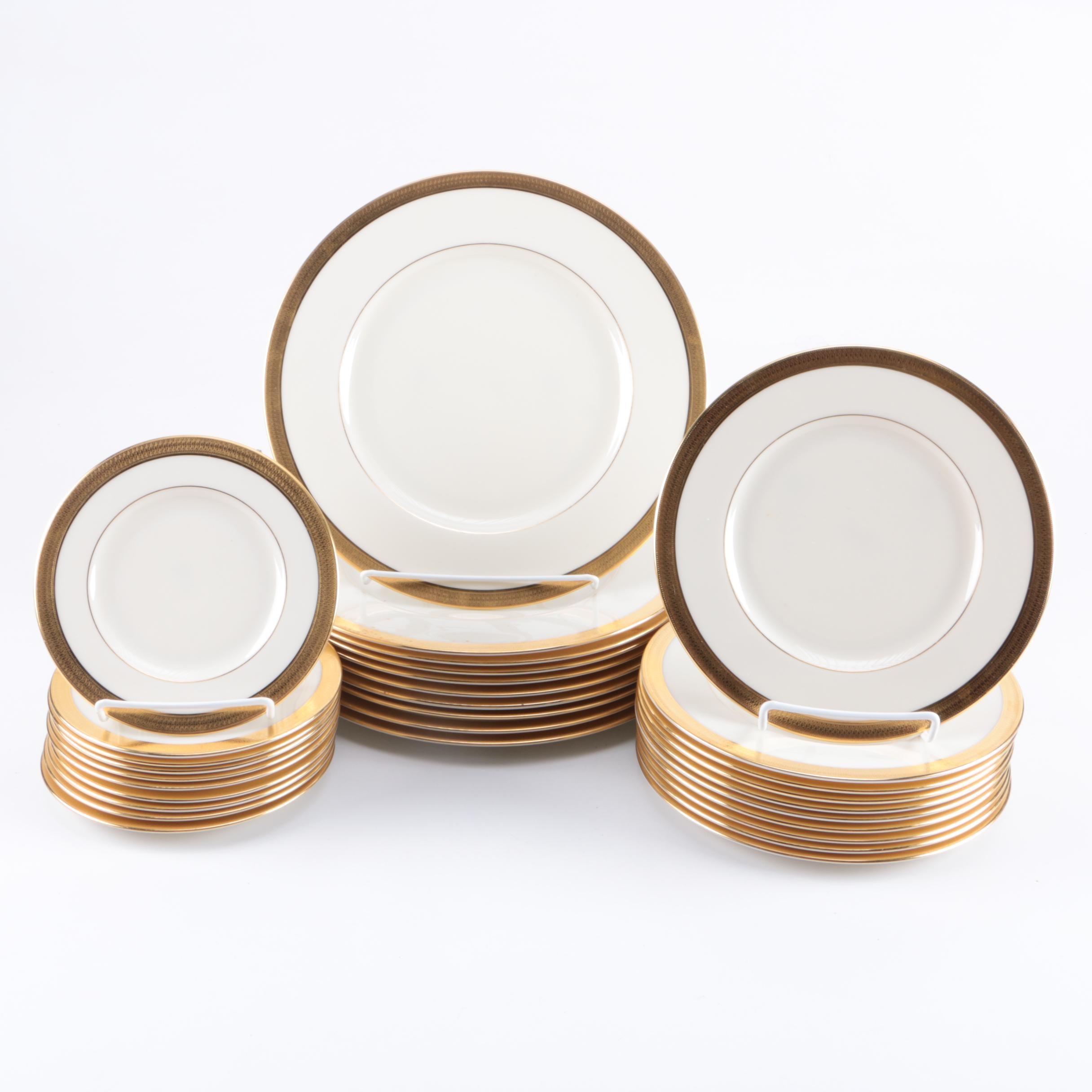 "Lenox ""Lowell"" Plates"
