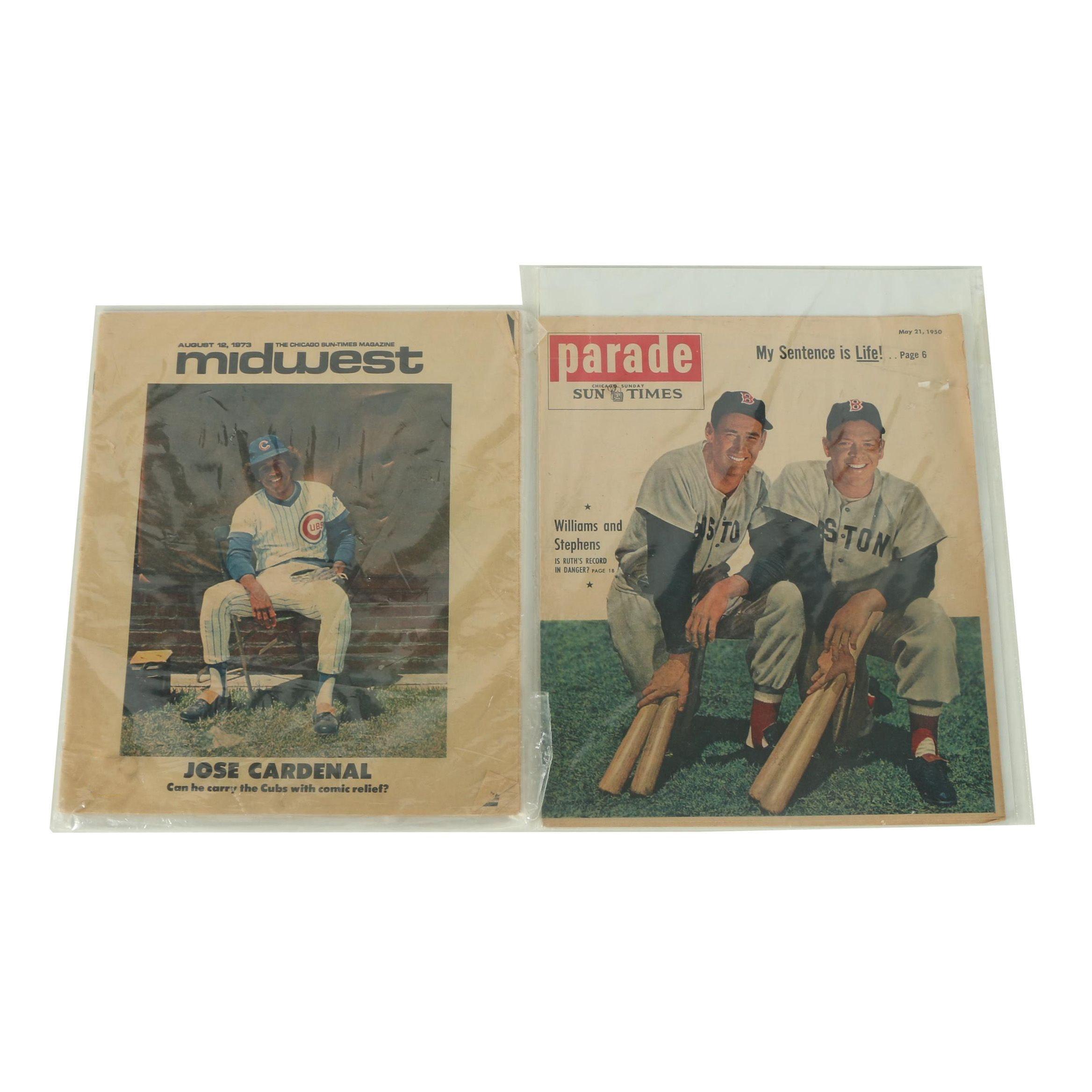 Pair of Vintage Chicago News Magazines