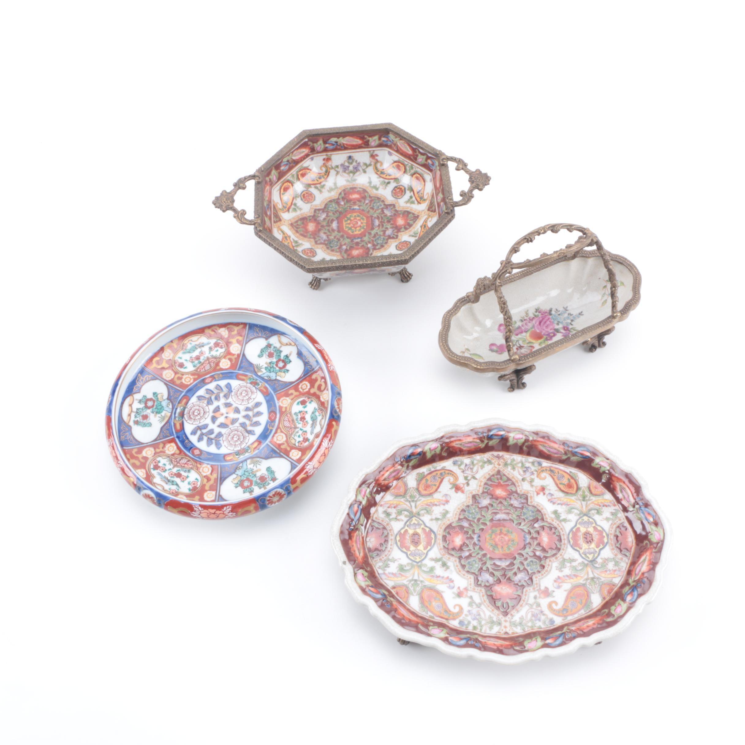 East Asian Ceramic Decorative Bowls