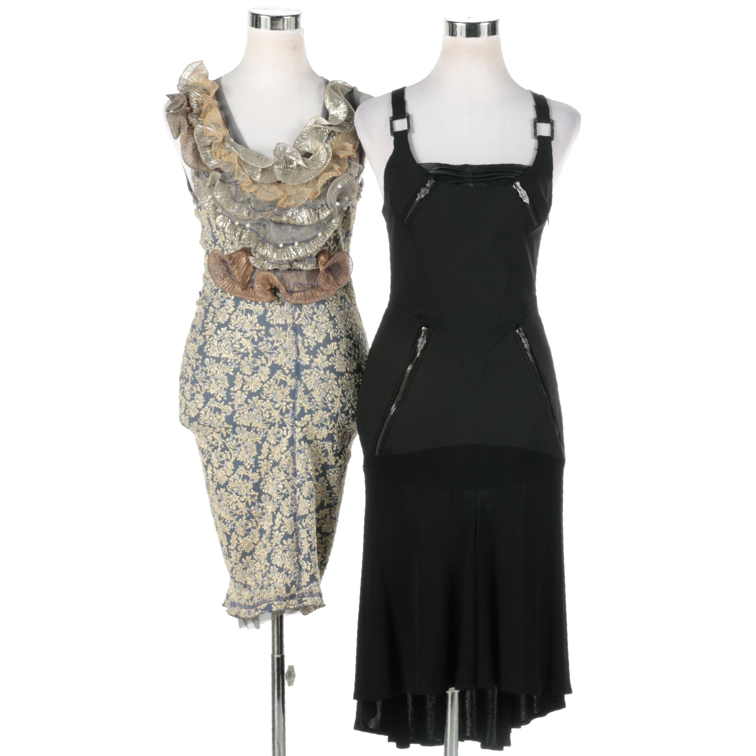 Women's Versace and Marc Jacobs Dresses