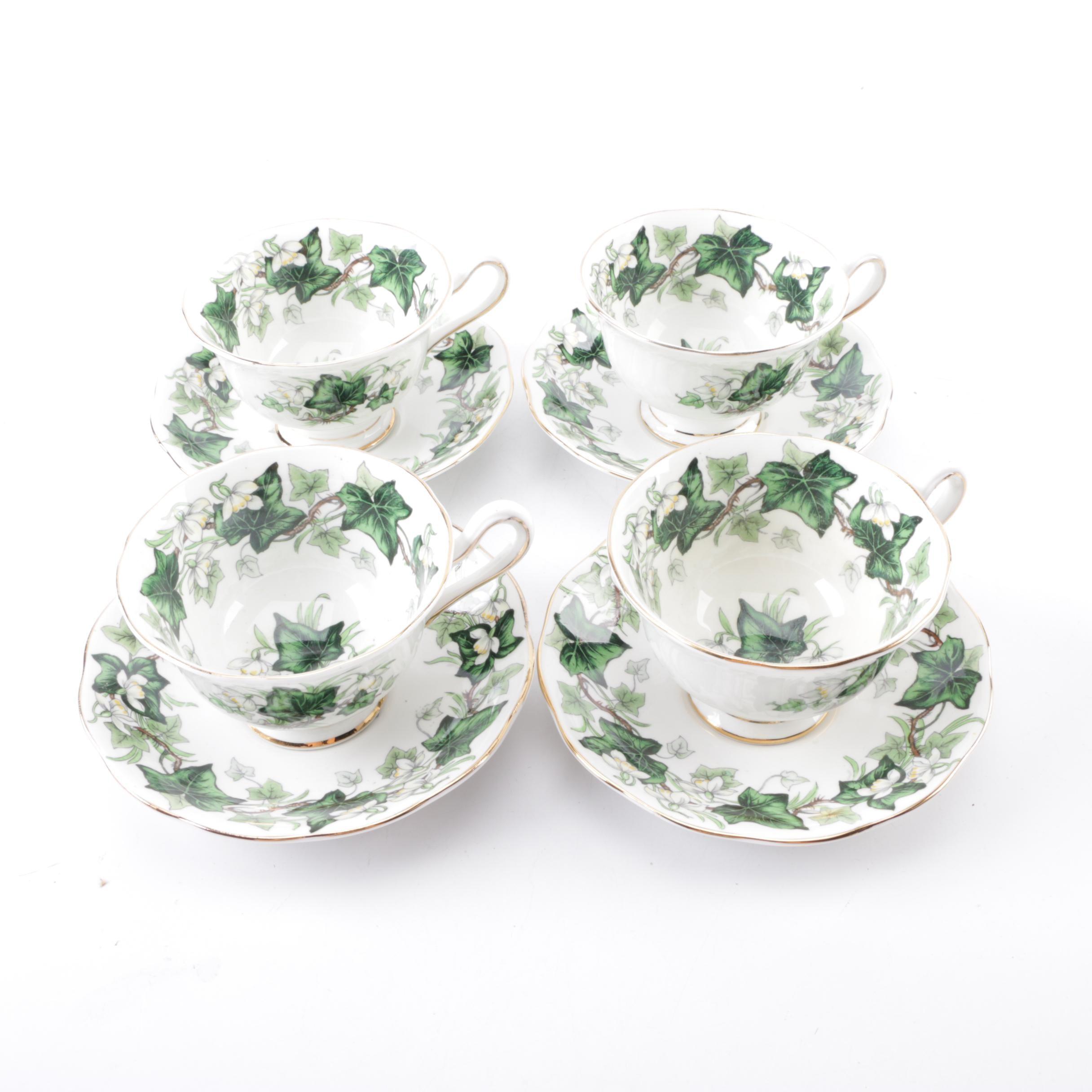 """Royal Albert """"Ivy Lea"""" Tea Set"""