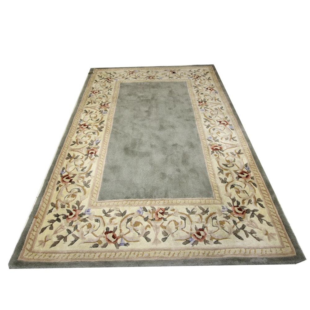 Hand Tufted Wool Oriental Area Rug by KAS