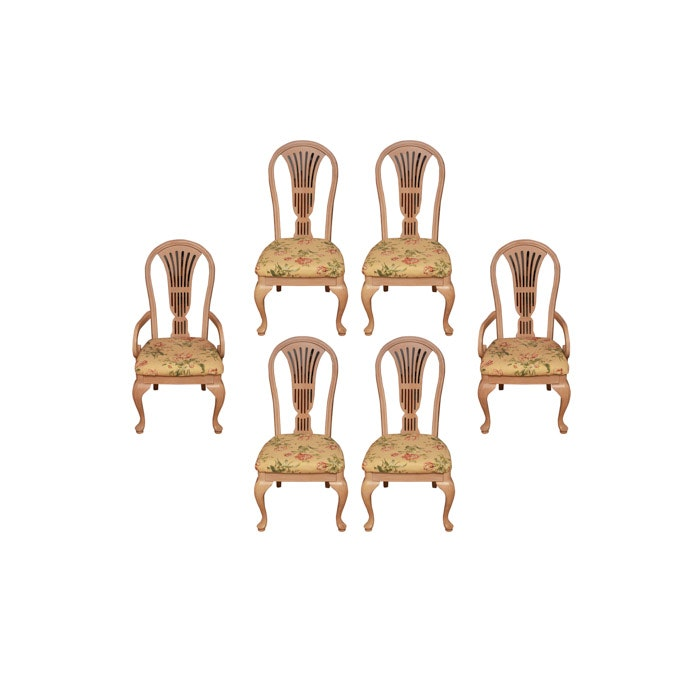 Blonde Wood Dining Chairs