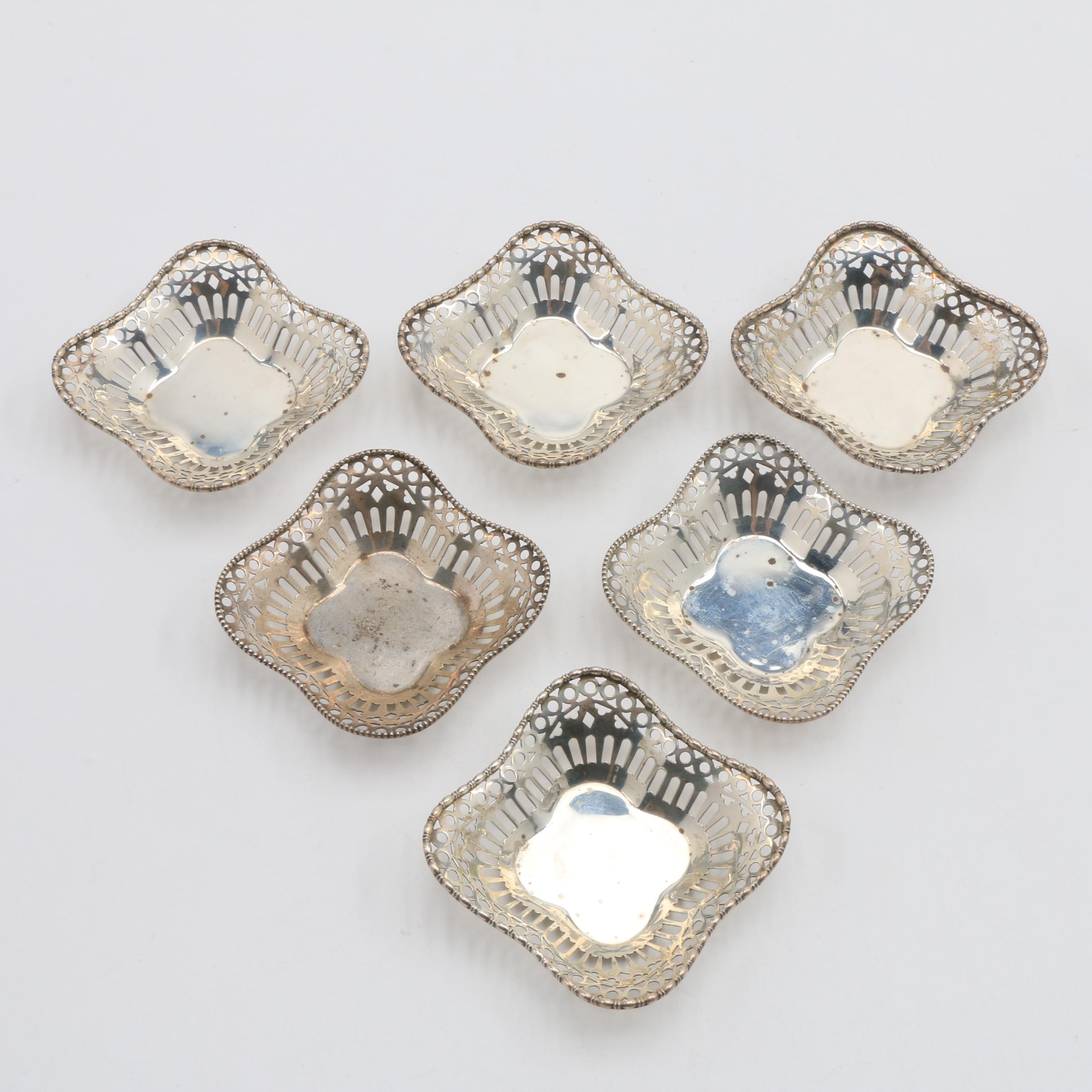 Frank Herschede Sterling Silver Nut Dishes