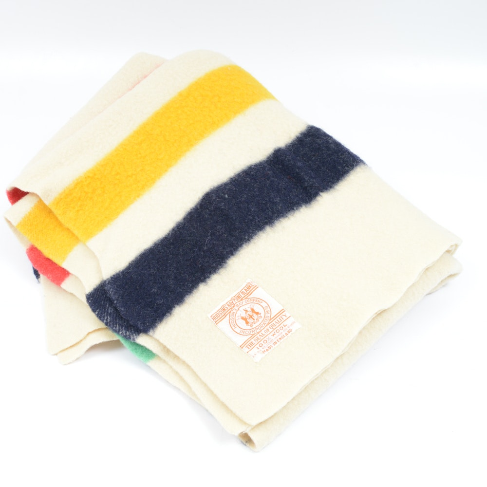 Hudson's Bay Wool Blanket