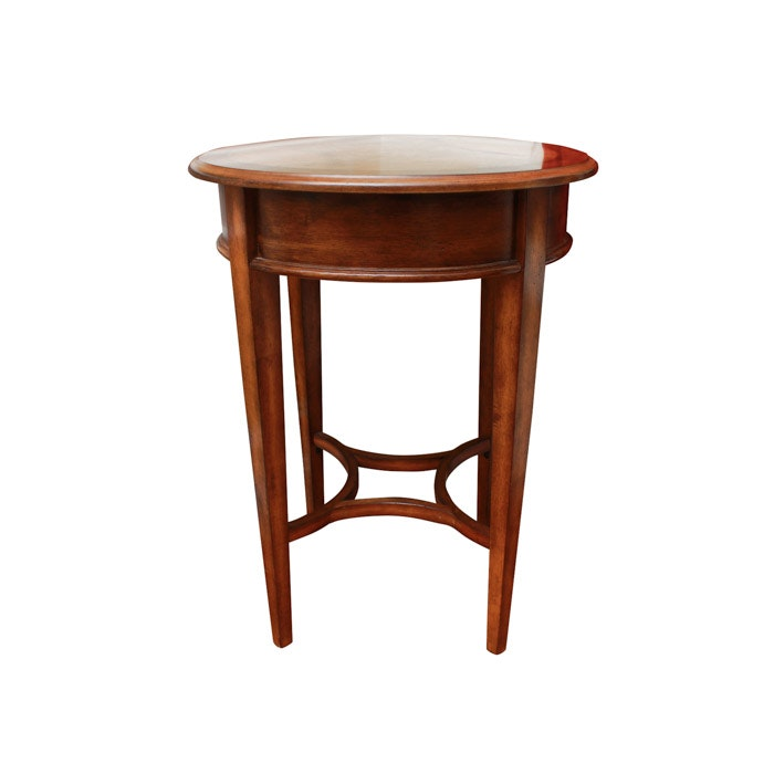 Federal Style Walnut Side Table