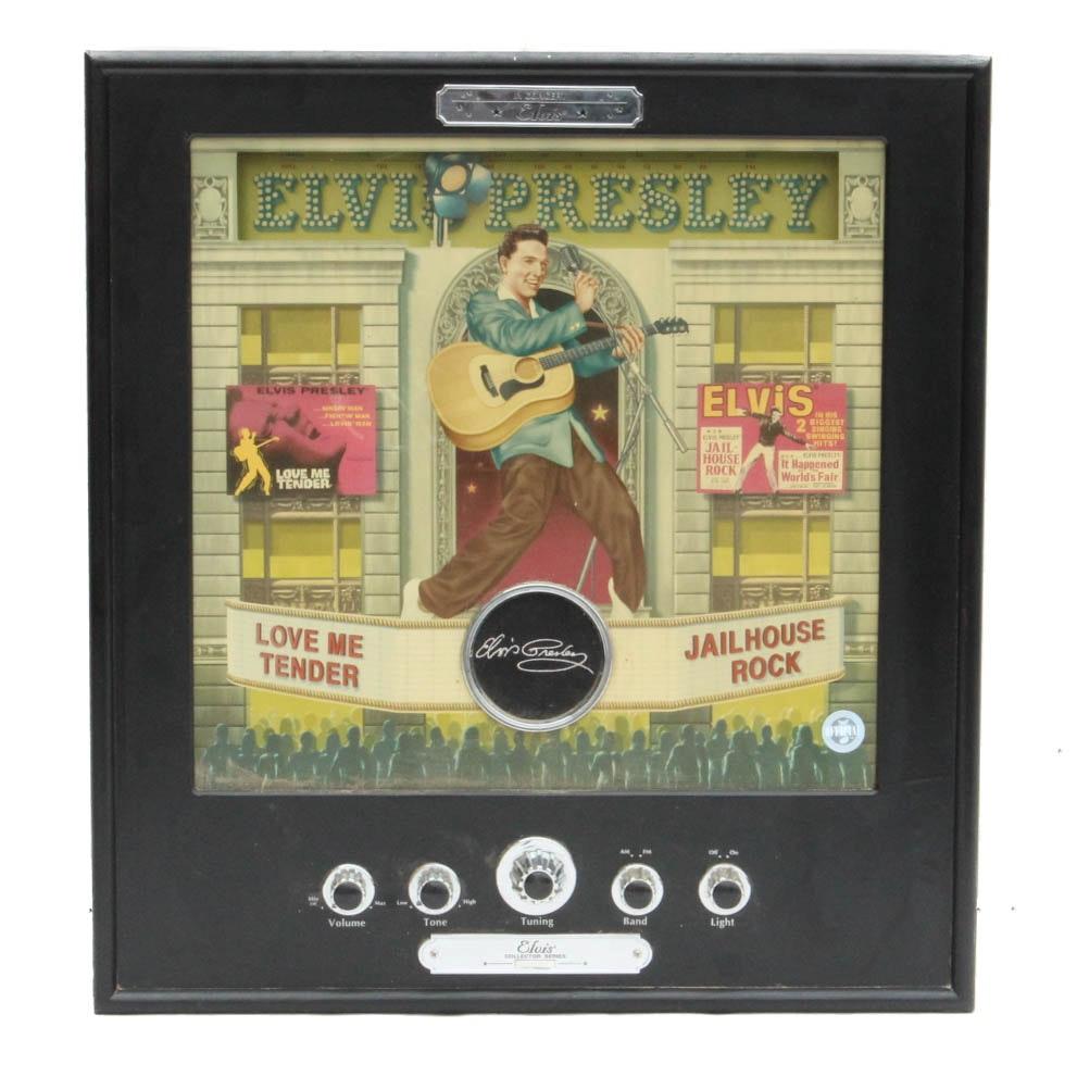 Elvis Presley Poster AM/FM Radio