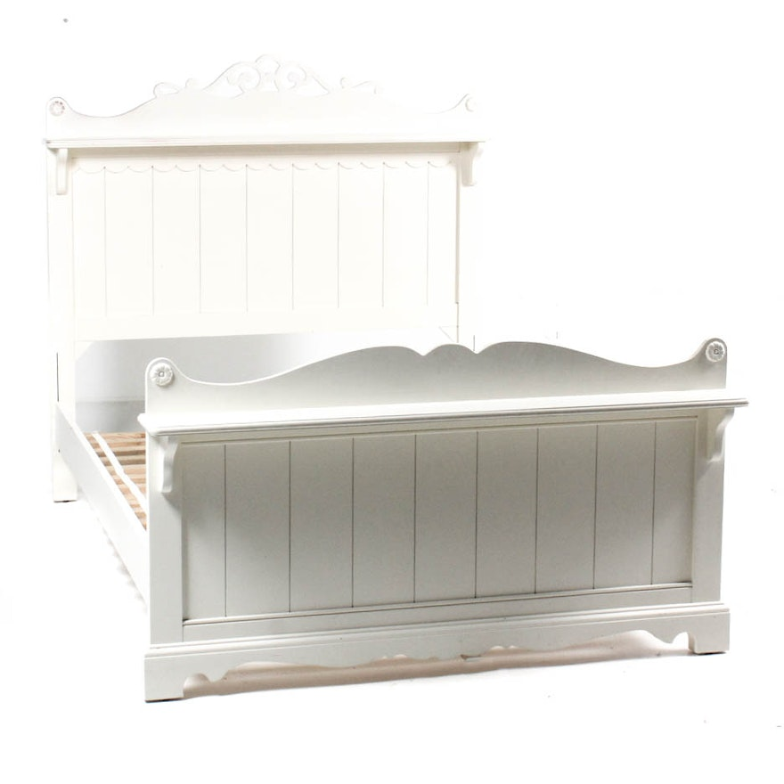 White Twin Bed Frame By Stanley Furniture
