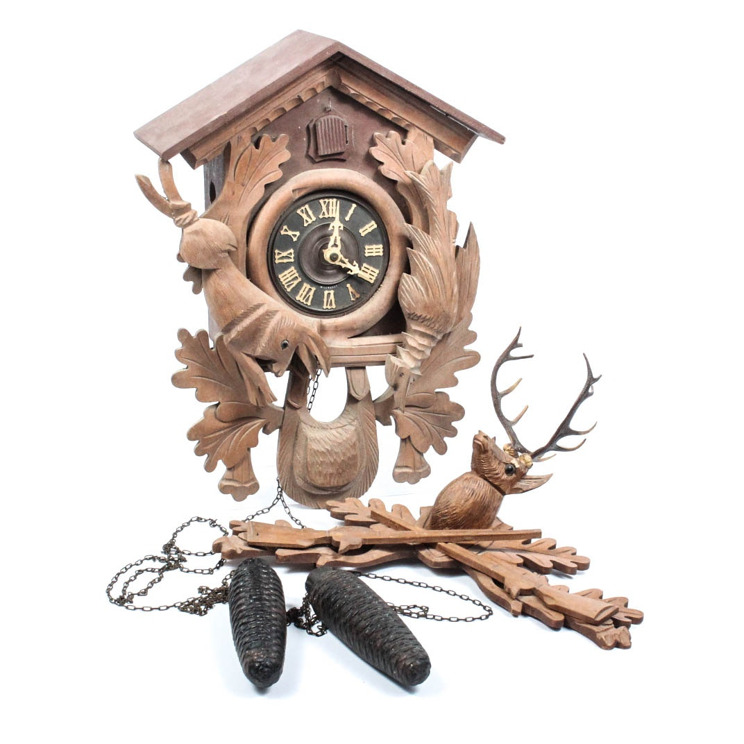 Hand Crafted German Cuckoo Clock
