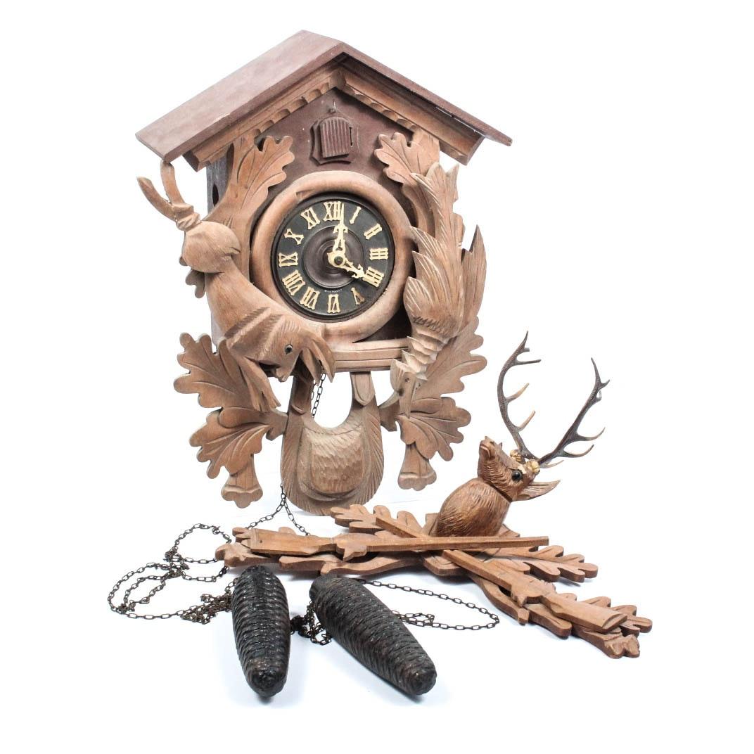 Hand Crafted German Cuckoo Clock