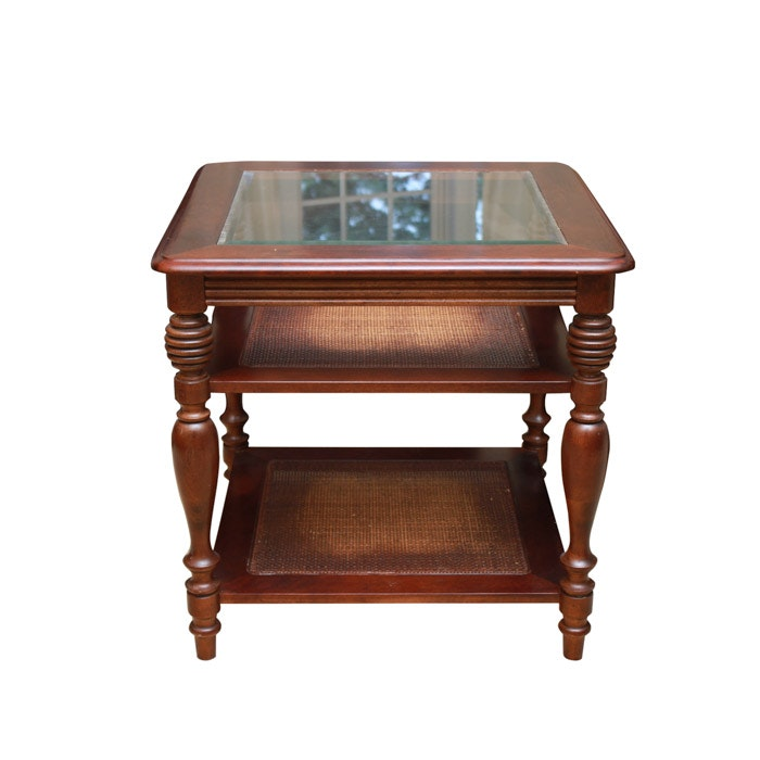 Sheraton Style Accent Table