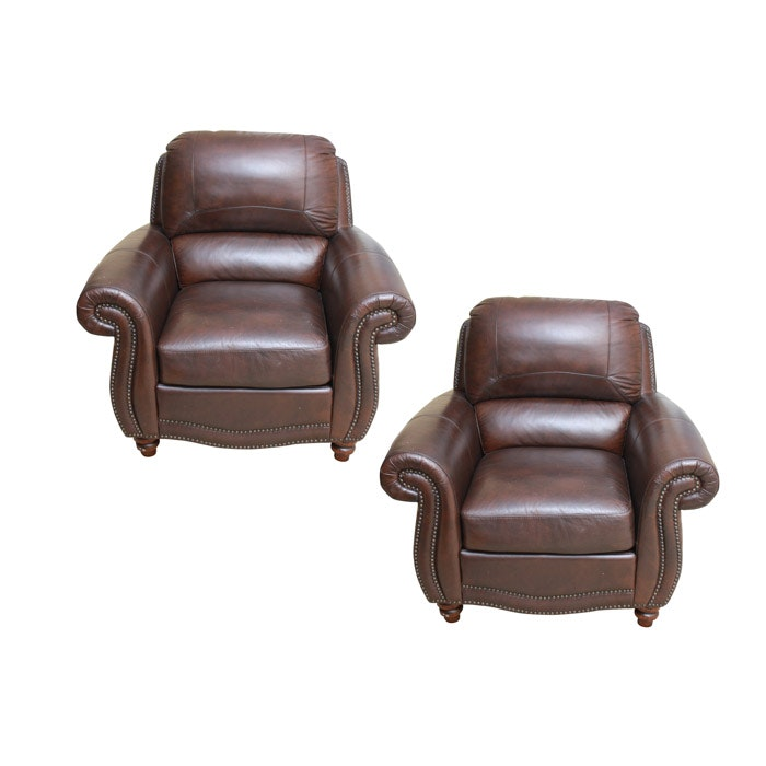 Pair of Club Chairs by Sunton Enterpirses