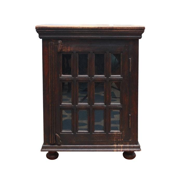 Vintage Cabinet Side Table