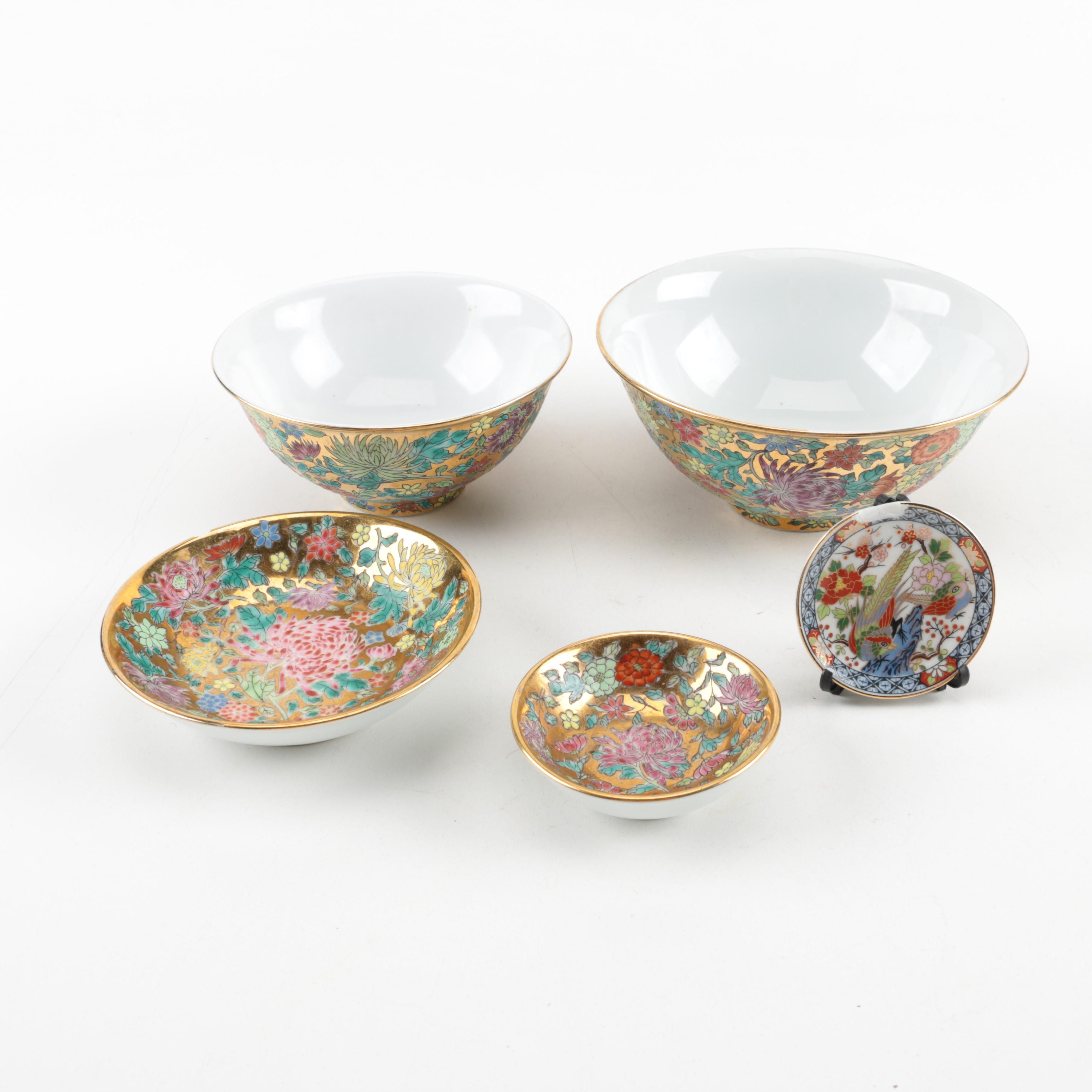 Chinese Porcelain Decorative Dishes