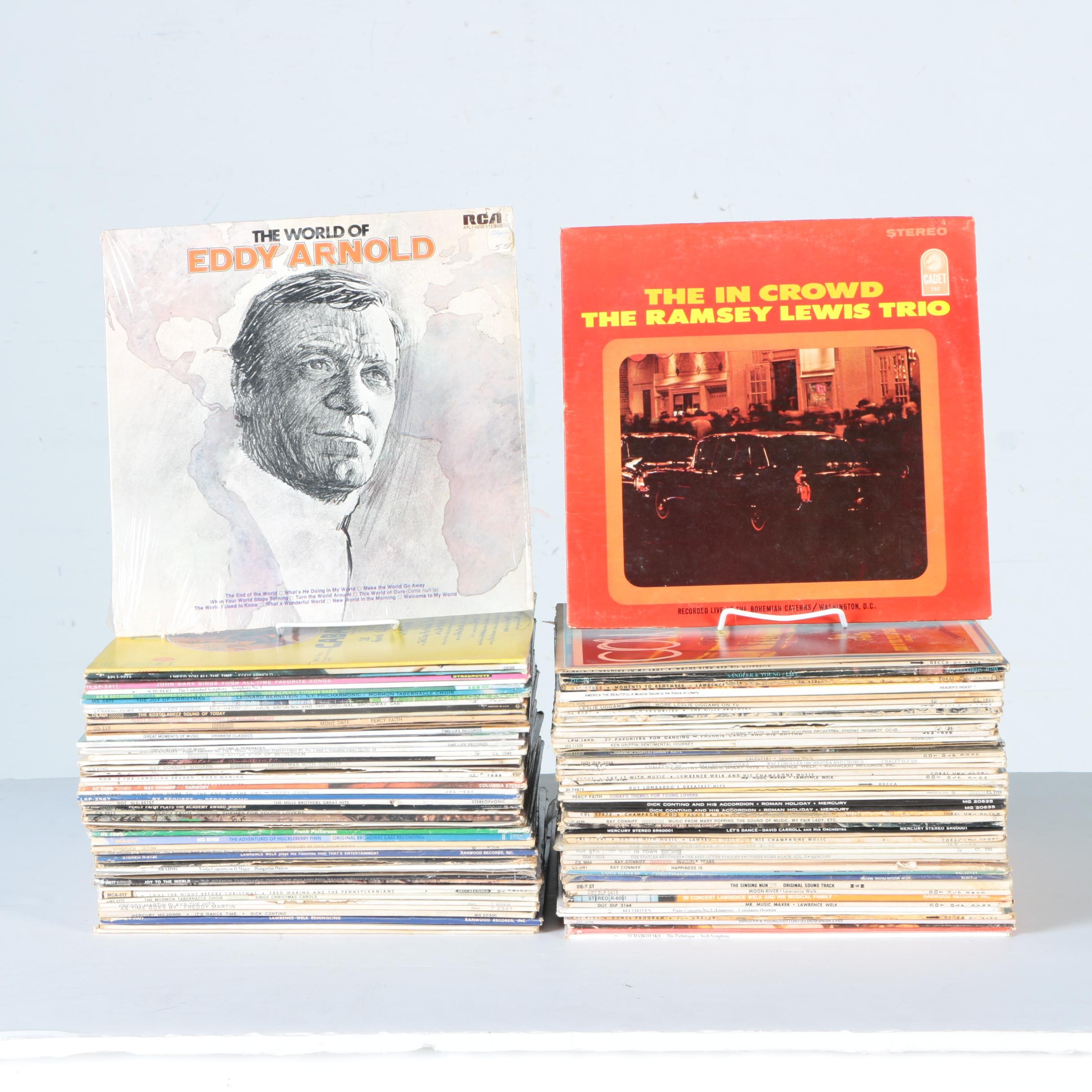 Eddy Arnold, Percy Faith, Ray Conniff, Lawrence Welk, and Other Vintage LPs