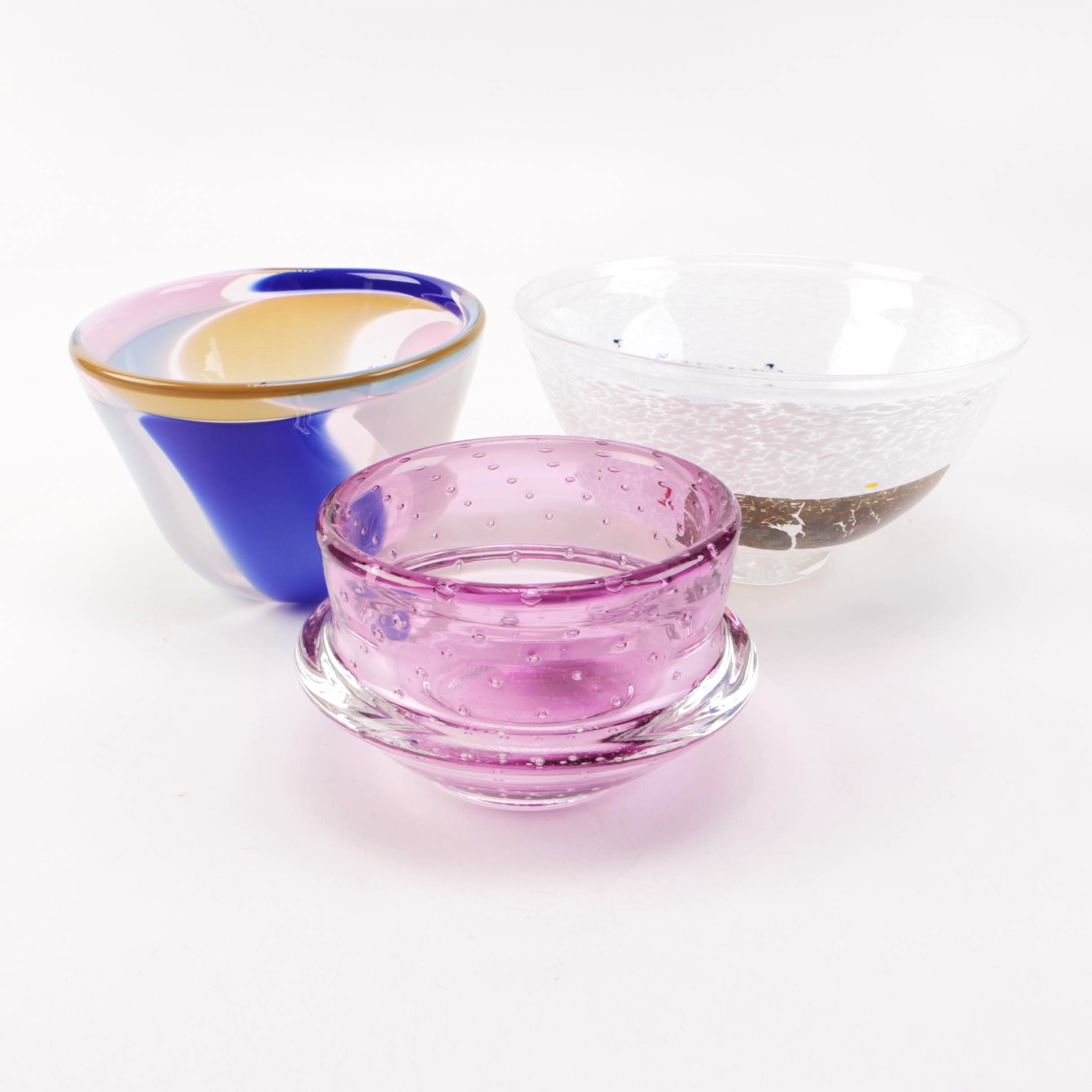 Art Glass Assortment Featuring Jim Shumate