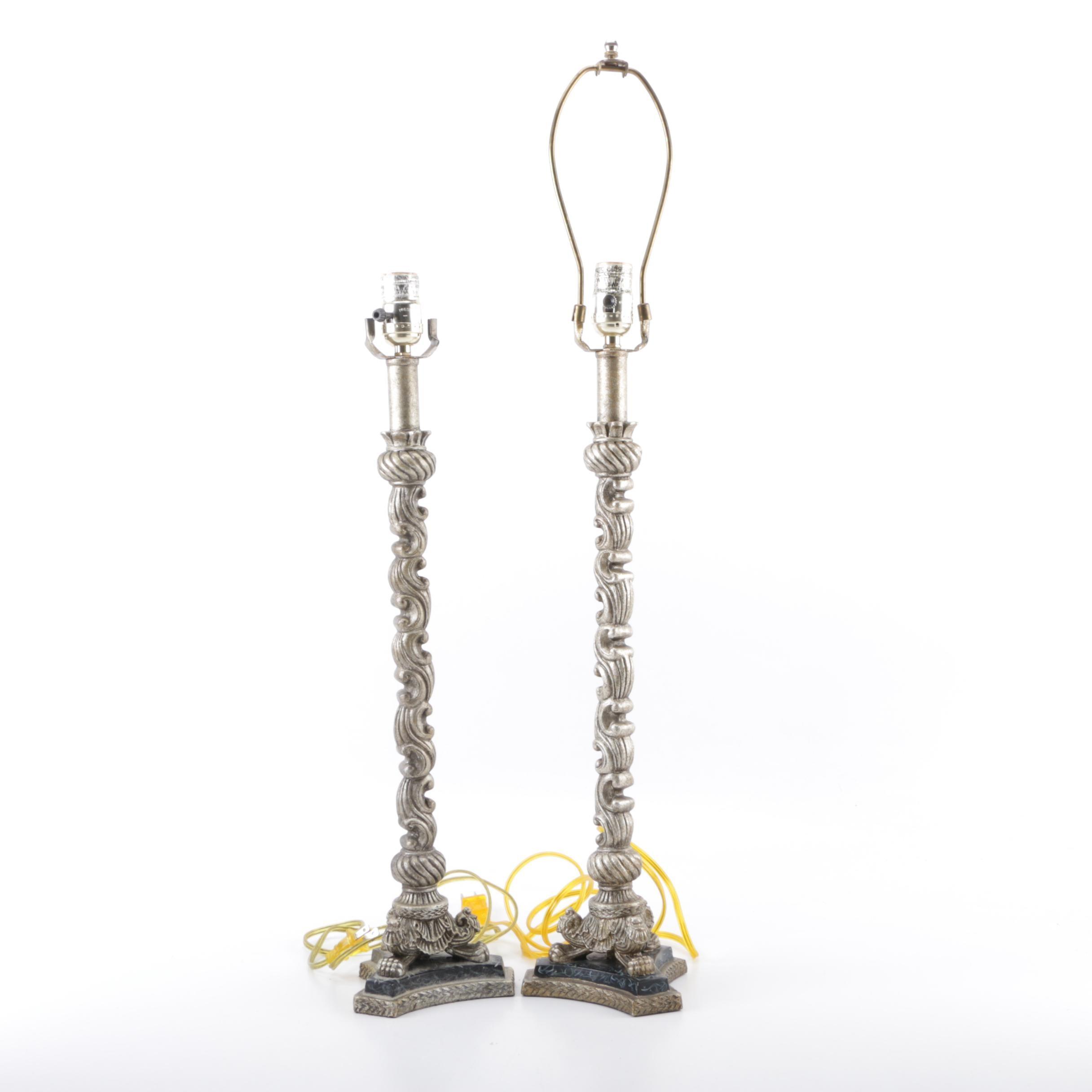 Metal Candlestick Lamps